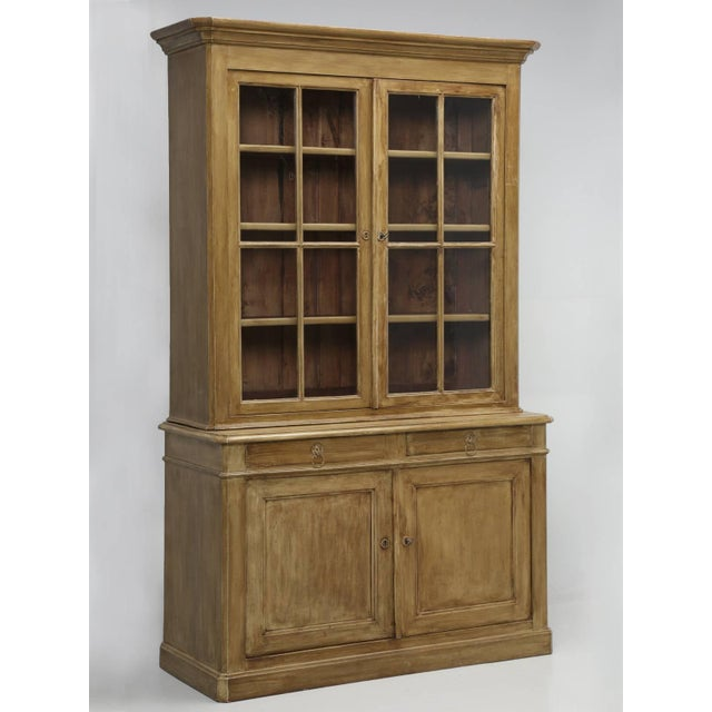 Antique French Painted China Cabinet From Bordeaux For Sale - Image 10 of 10