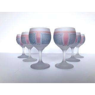 Hand Painted Cocktail Glasses - Set of 6 Preview