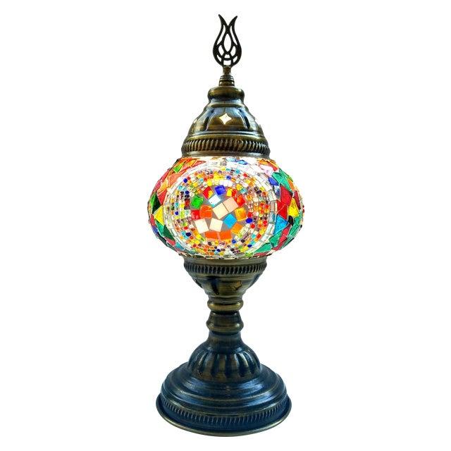 Handmade Mosaic Table Lamp - Image 1 of 4