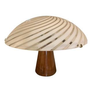 Mid-Century Murano Glass Modern Desk Lamp For Sale