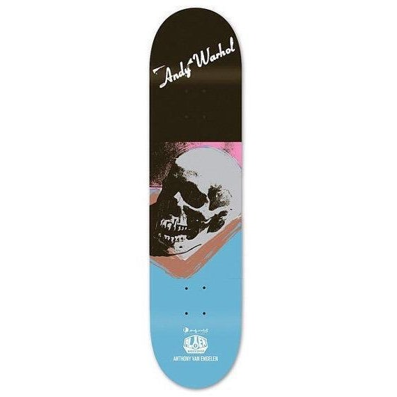 Andy Warhol Skull Skate Deck - Image 1 of 3