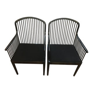 Stendig Italian Andover Spindel Chairs - A Pair