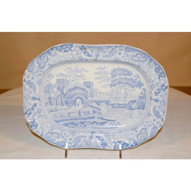 English 19th Century Copeland Spode Platter For Sale - Image 3 of 10