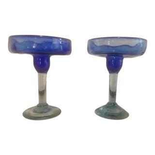 Blown Glass Barware- Set of 2