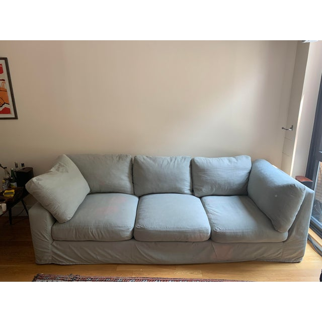 Cotton ABC Home Sofa For Sale - Image 7 of 7