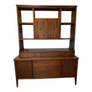 1960s Vintage Mid Century Modern Sideboard Saga by Broyhill For Sale