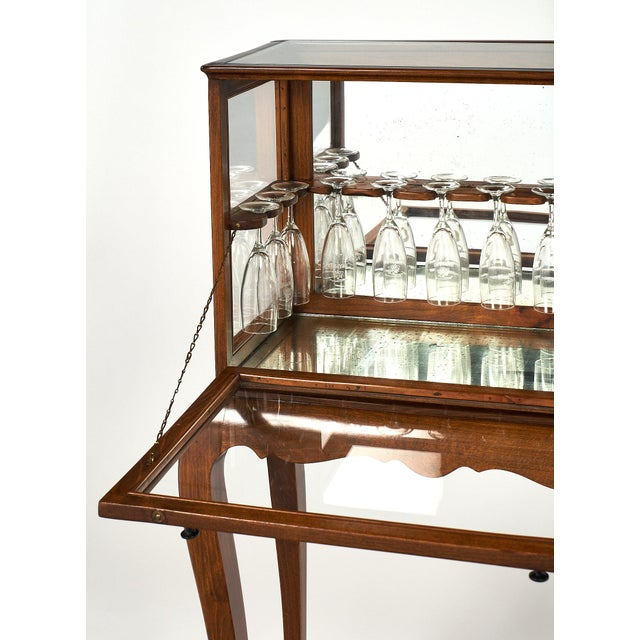 French Art Deco Champagne Cabinet/Bar For Sale - Image 10 of 12