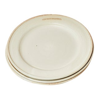 Handmade Salad Plate from New York Stoneware For Sale
