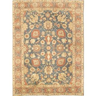Antique Persian Tabriz Rug - 9′3″ × 12′8″ For Sale