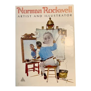 Norman Rockwell 1st Edison Coffee Table Book For Sale