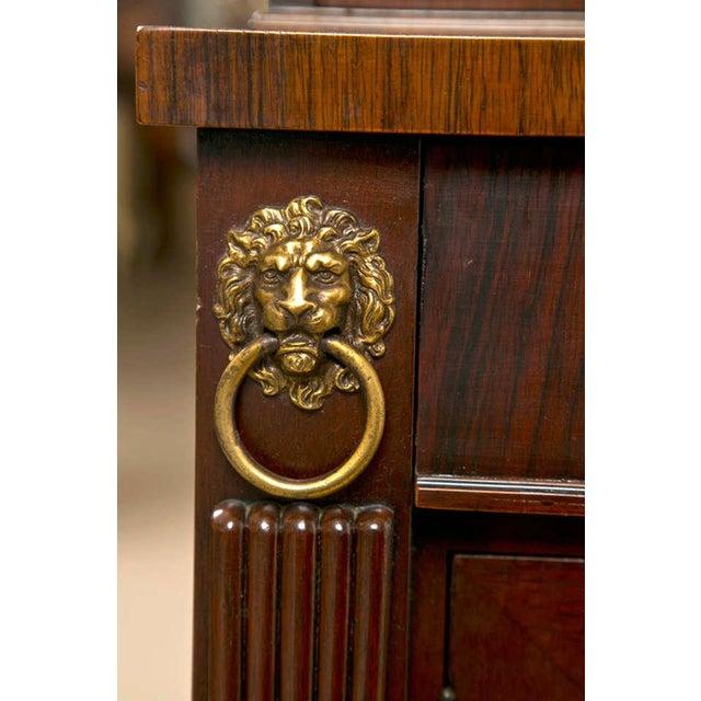 Regency Style Rosewood Serving Cabinet - Image 4 of 8