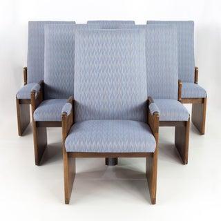 Vintage Mid Century Lane Pueblo Brutalist Dining Chairs - Set of 6 Preview