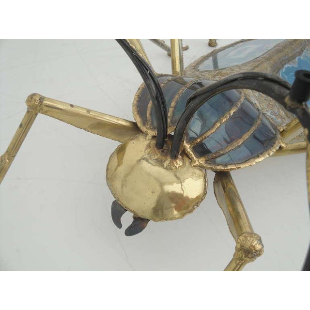 Gold Henri Fernandez Beetle Sculpture or Coffee Table for Atelier Duval-Brasseur For Sale - Image 8 of 10