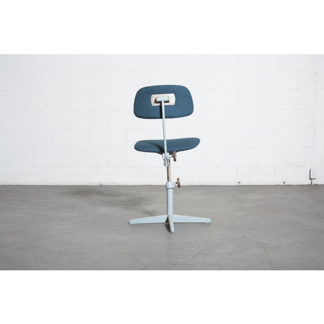 Friso Kramer Newly Upholstered Drafting Chair - Image 6 of 11