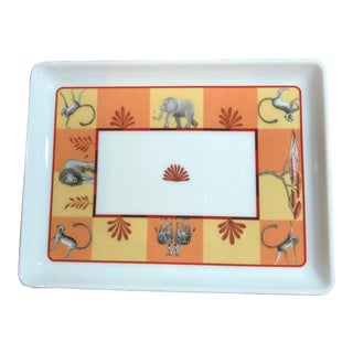 Hermes Africa Decorative Plate For Sale
