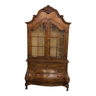 Vintage Oak Grand Buffet For Sale
