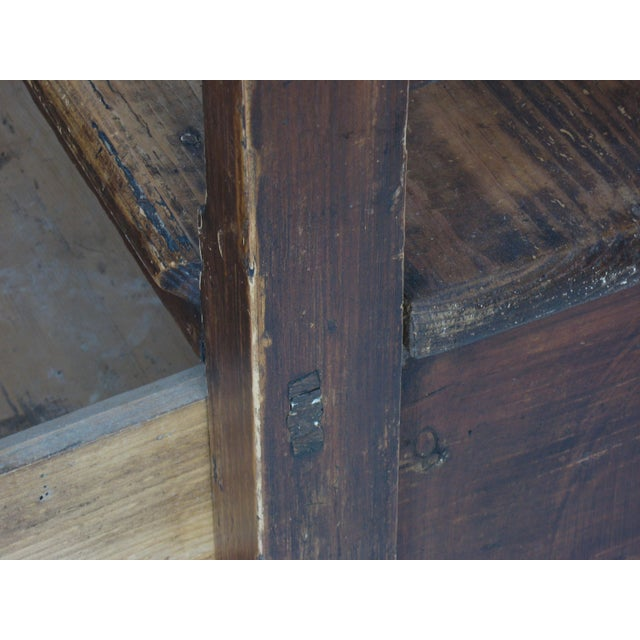 Antique Swedish Bench - Image 9 of 10