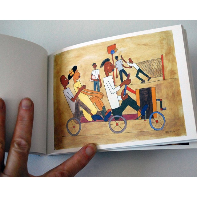 """1990s Vintage """"Paintings by African-Americans"""" Postcard Book For Sale - Image 5 of 8"""