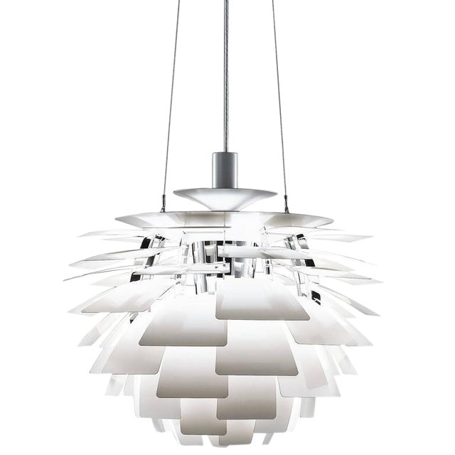 Sophisticated poul henningsen white ph artichoke chandelier for poul henningsen white ph artichoke chandelier for louis poulsen for sale aloadofball Image collections