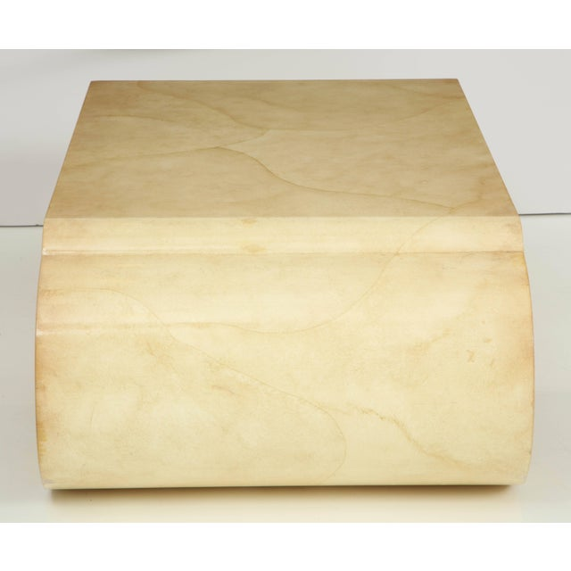 Cream Lacquered Coffee Table by Alessandro for Baker For Sale - Image 8 of 10