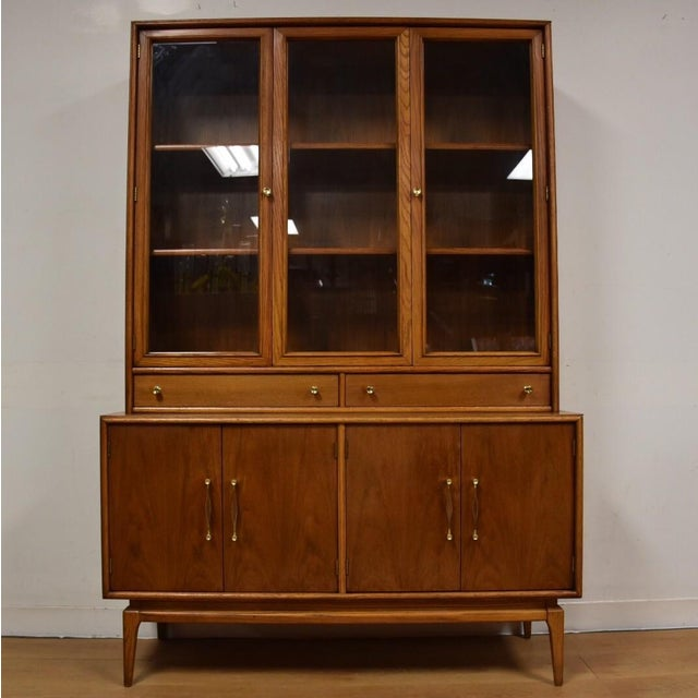Keller Walnut Hutch Credenza - Image 2 of 9