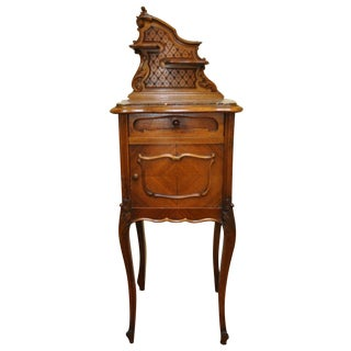 1900s French Louis XIV Style Marble Top Accent Table For Sale