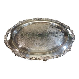 Lunt Silver Tray For Sale