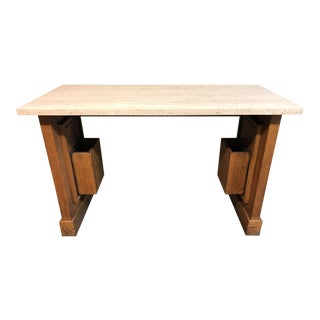Early 20th Century Antique San Francisco Bank of Italy Table For Sale