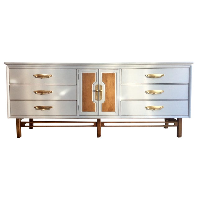 Mid-Century Modern Credenza or Buffet - Image 1 of 9