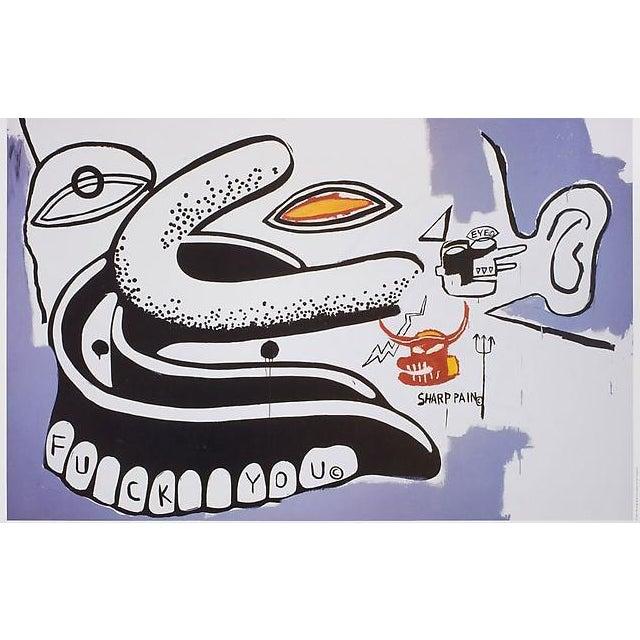 Basquiat Warhol Exhibit Poster - Image 2 of 2