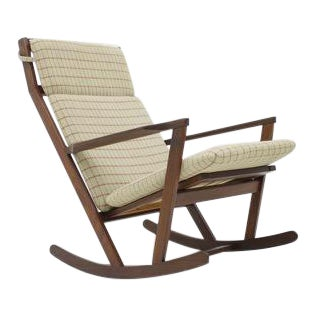 Poul Volther Rocking Chair by Frem Rojle Denmark 1960s For Sale
