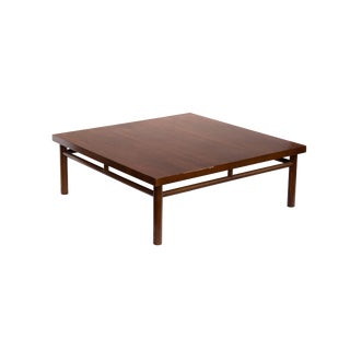 Square Coffee Table in the Style of t.h. Robsjohn-Gibbings For Sale