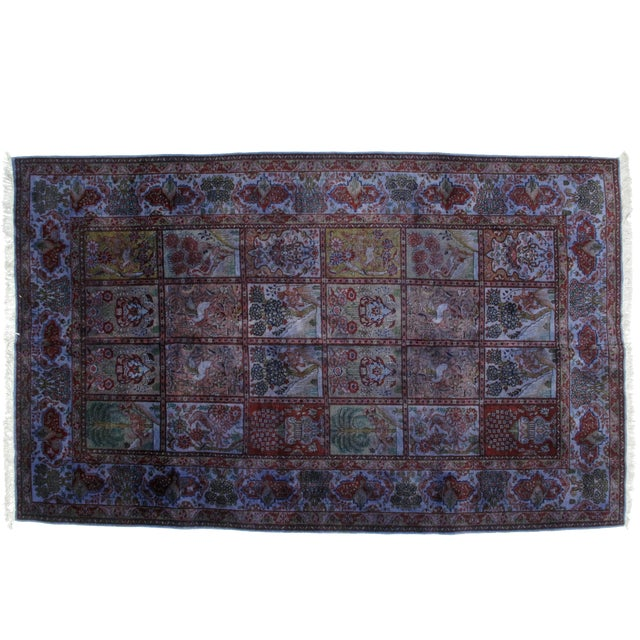 Leon Bnailivi Over Dye Persian Rug - 7′9″ × 12′ For Sale