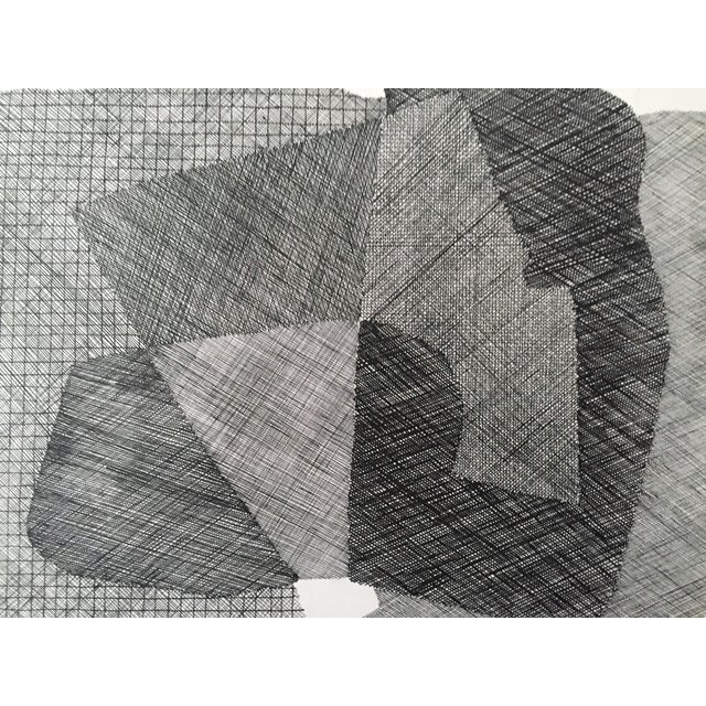 Pen & Ink Abstract Drawing by Roger Stokes - Image 2 of 5