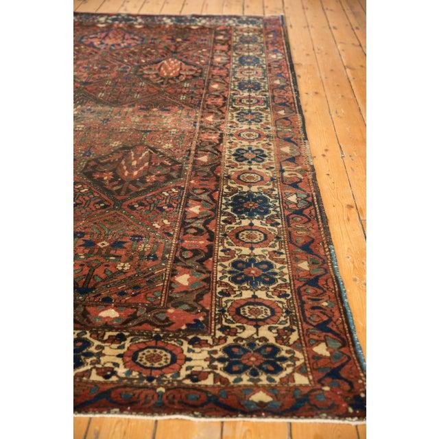 """Vintage Baktiari Carpet - 7'1"""" X 9'11"""" For Sale - Image 10 of 12"""