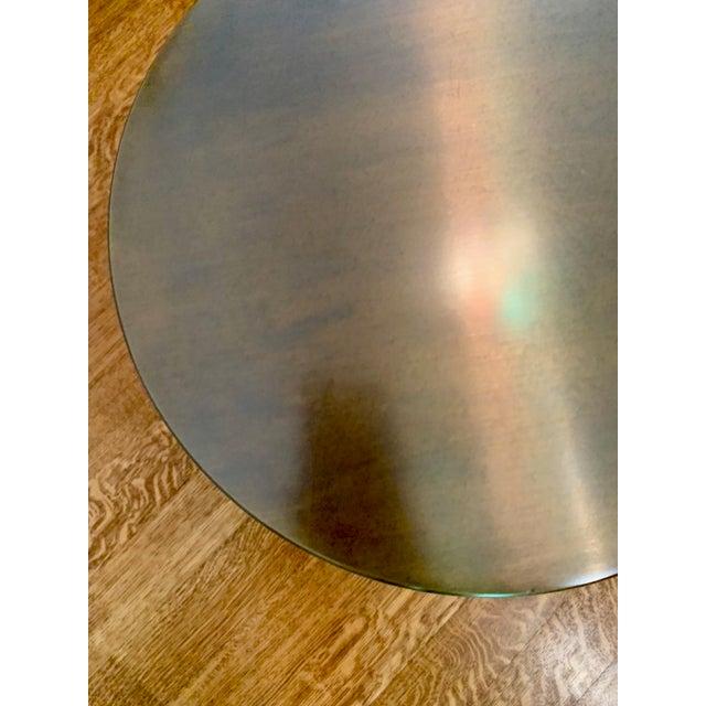 """Promemoria Italian Bronze Promemoria Edo """"Plug"""" Table For Sale - Image 4 of 5"""