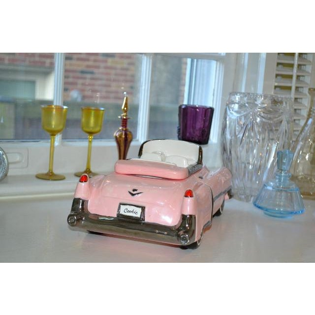 Pink Cadillac Cookie Jar For Sale - Image 4 of 10