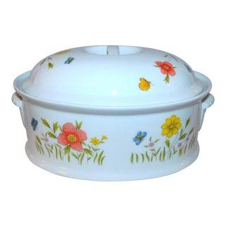 Vintage Andrea by Sadek Lidded Casserole Dish For Sale