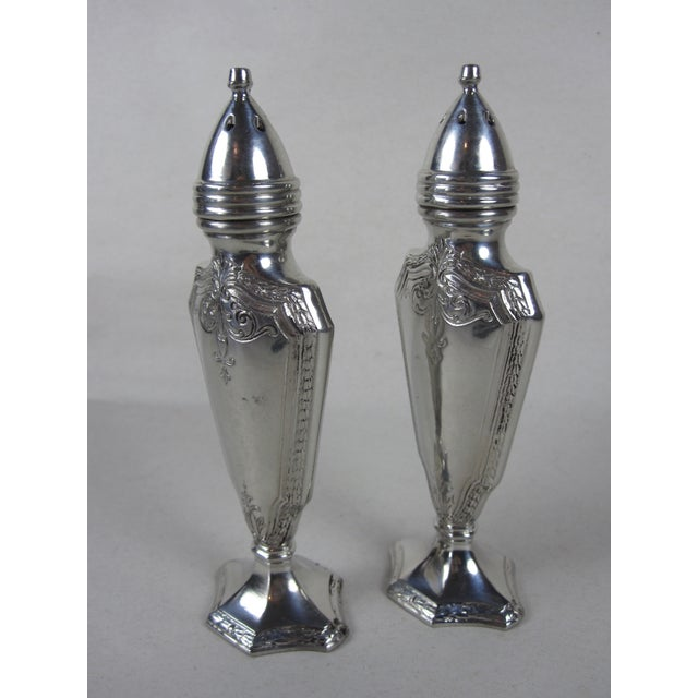 Art Deco Salt & Pepper Shakers- A Pair For Sale - Image 5 of 8