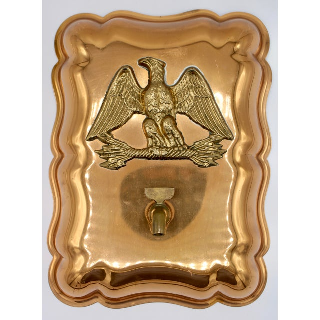 Vintage Federal Eagle Copper Mold Wall Mount For Sale - Image 12 of 12