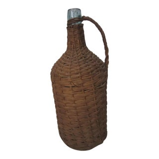1920s Early Glass Demijohn For Sale