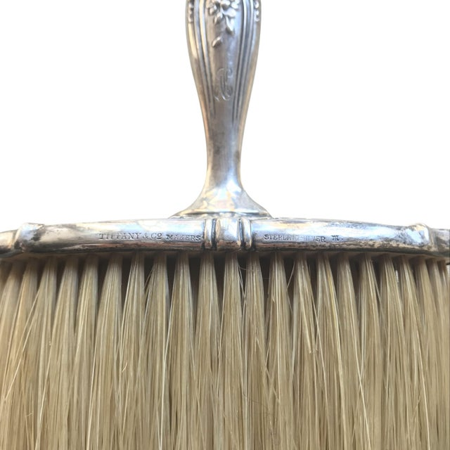 Tiffany & Co. Silver. Grooming & Vanity Brush. Tiffany etched & stamped marking.