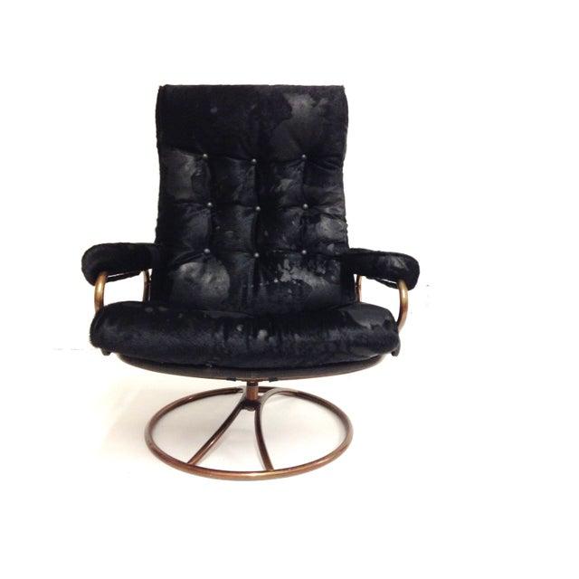 Ekornes Mid-Century Modern Lounge Chair - Image 3 of 7