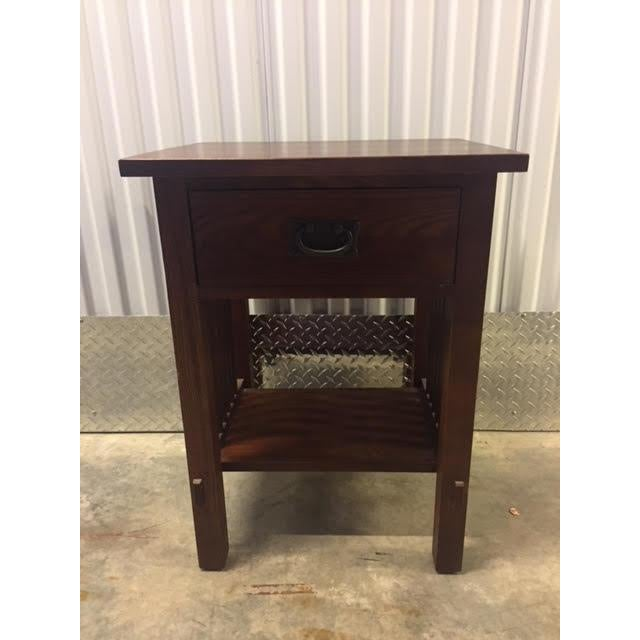 Mission Durham Mission Style Nightstand For Sale - Image 3 of 3