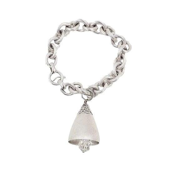 1970s Napier Bell Charm Bracelet For Sale