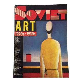 "1988 ""Soviet Art 1920s-1930s"" Book For Sale"