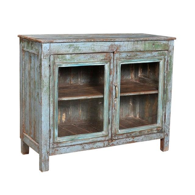 Vintage Painted Display Cabinet - Image 1 of 2