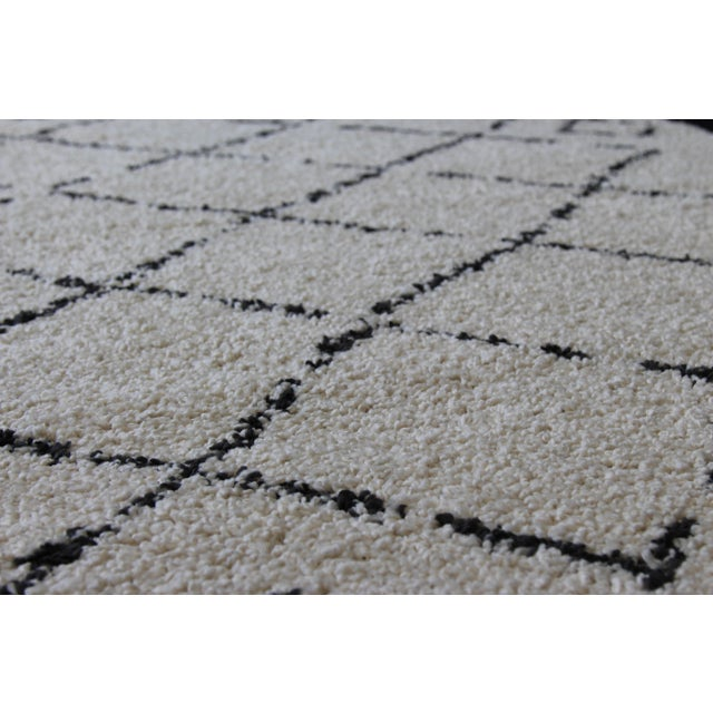 Contemporary Plush Rug with Moroccan Design - 8' x 11' - Image 9 of 9