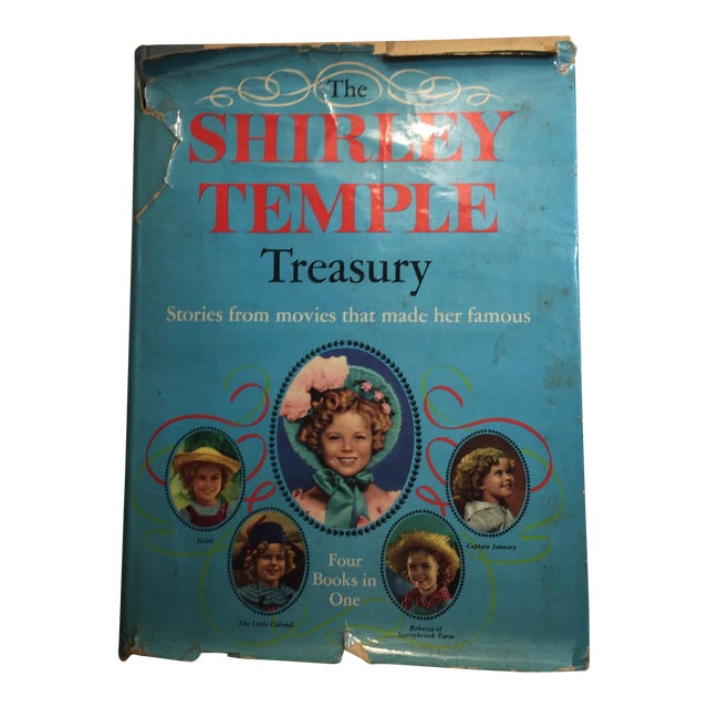 "1959 ""The Shirley Temple Treasury"" Book For Sale"
