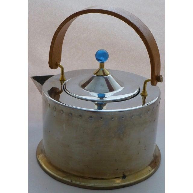 Vintage Carsten Jorgensen Danish Modern Bodum Osiris Teapot For Sale - Image 4 of 11